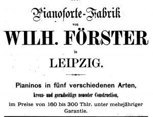 Förster, W. 1873