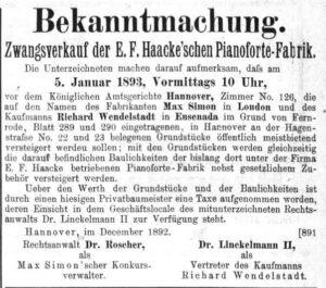 Haake 1893
