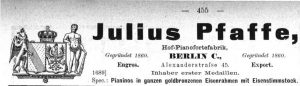 Pfaffe 1894