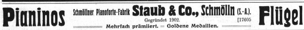 Staub 1916