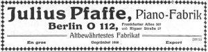 Pfaffe 1921