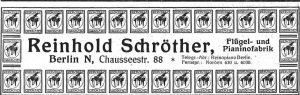 Schröther Anzeige 1926