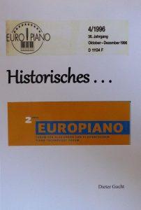 """Buch """"Historisches"""""""