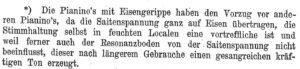 Lindner, Eisengerippe