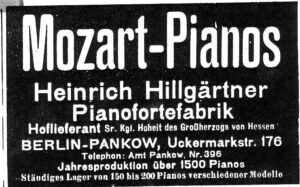 Hillgärtner 1910