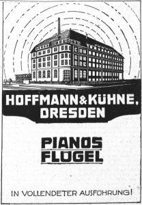 Hoffmann & Kühne, Fabrik 1926