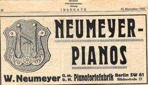 Neumeyer, Walter