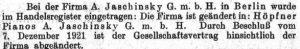 Jaschinsky Hopfner