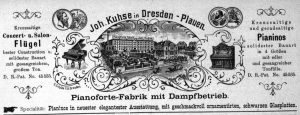 Kuhse, Anzeige 1891