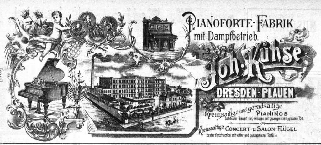 Kuhse, Anzeige 1895