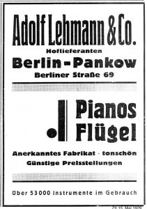 Lehmann,1929