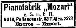 (Hillgärtner) Mozart