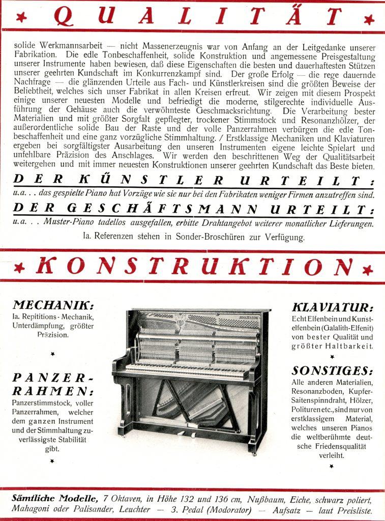 Piano_Schulze Reklame