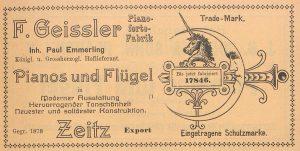 Geissler WAB 1912