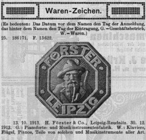 Förster, H. Warenzeichen