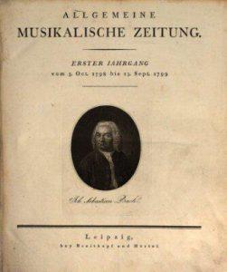 Breitkopf Musikal. Zeitung