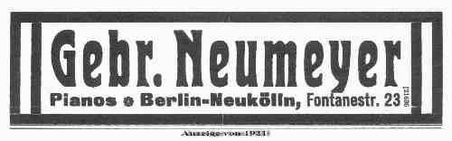 Gebrüder Neumeyer