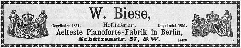 Fa. Biese-1897