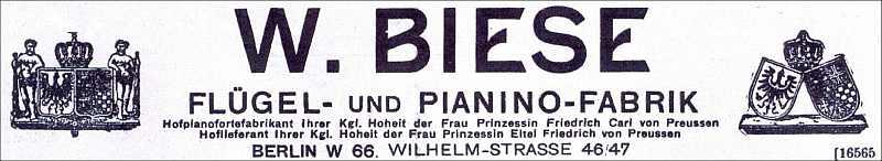 Fa. Biese-1918