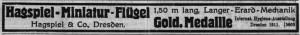 Hagspiel 1912