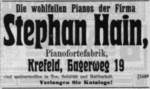 Hain 1914