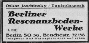 Jaschinsky 1928