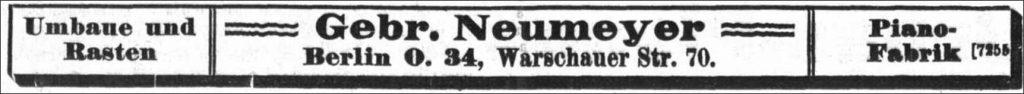 Neumeyer-Gebr.