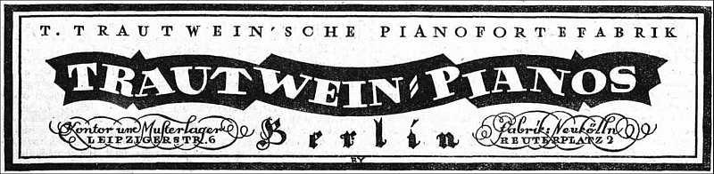 Fa. Trautwein 1920